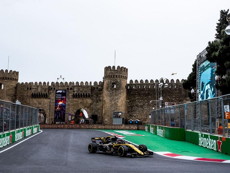 Baku F1 Grand Prix 2021